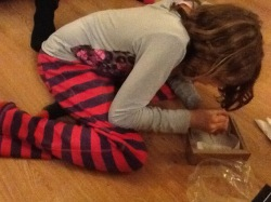 This is Amelie doing archaeology